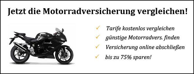 Motorradversicherung im Vergleich
